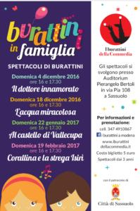Burattini in famiglia #Sassuolo