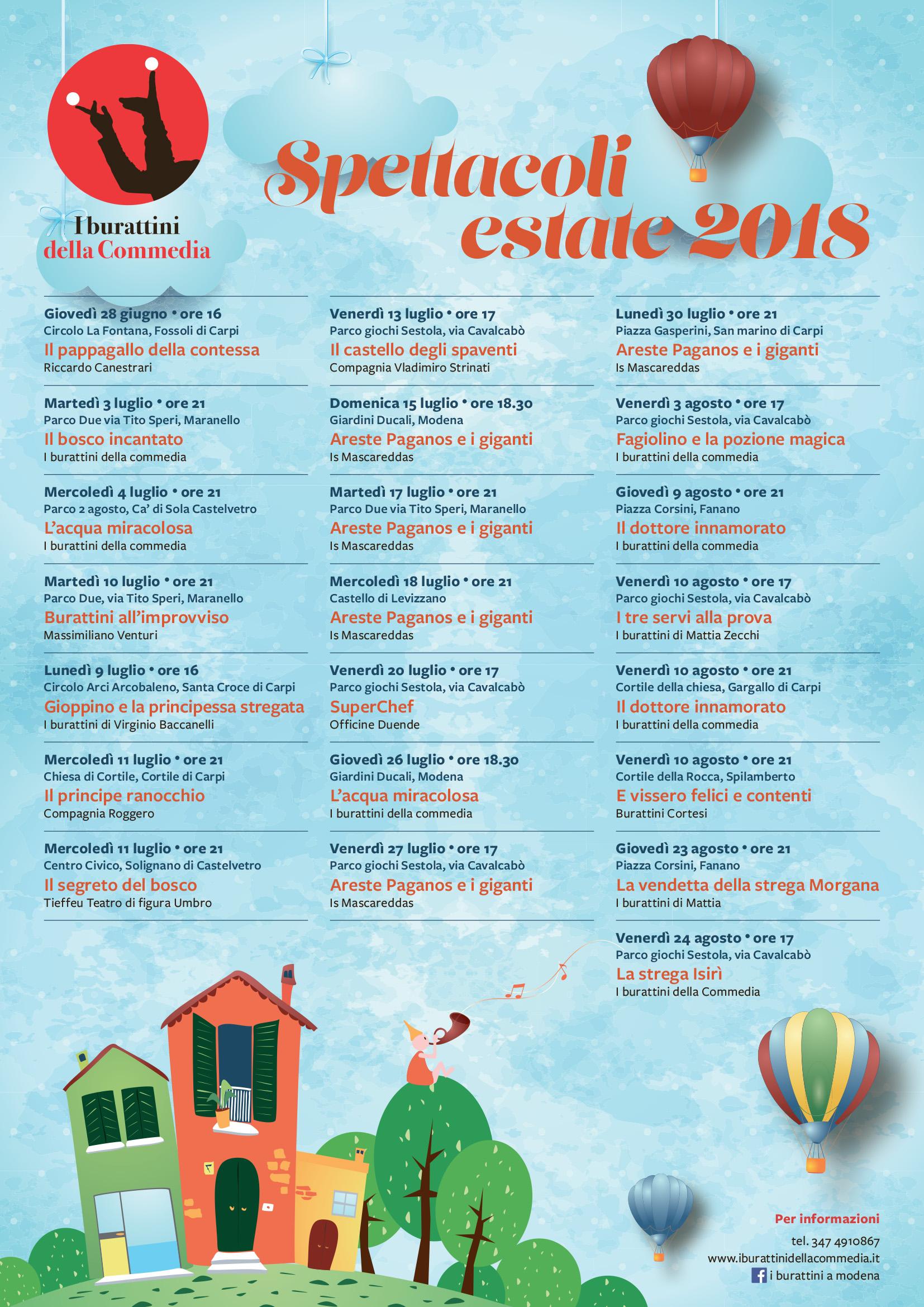 free shipping 69828 19e93 Eventi e rassegne | I Burattini della Commedia