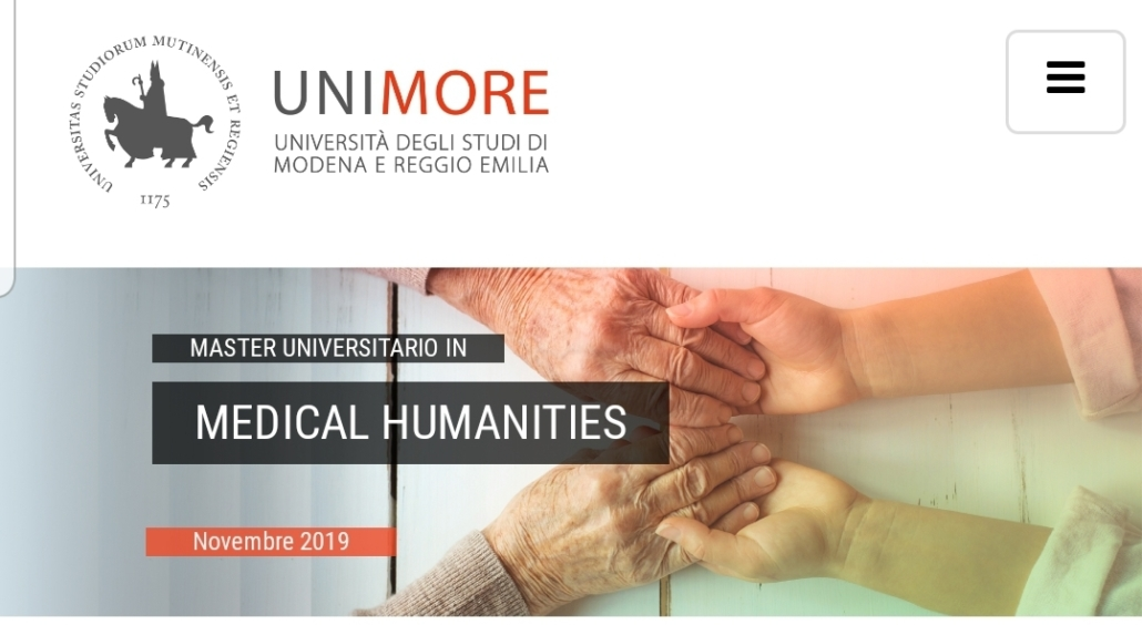Calendario Lezioni Unimore.Master In Medical Humanities Unimore I Burattini Della